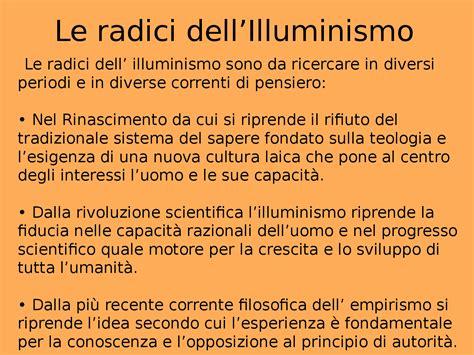 ricerca sull illuminismo presentazione powerpoint sull illuminismo docsity