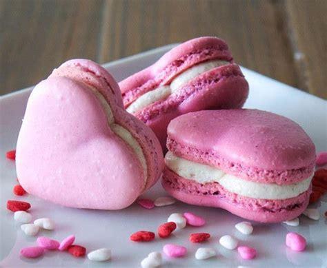 valentines day macarons 15 shaped valentine s day desserts omg chocolate