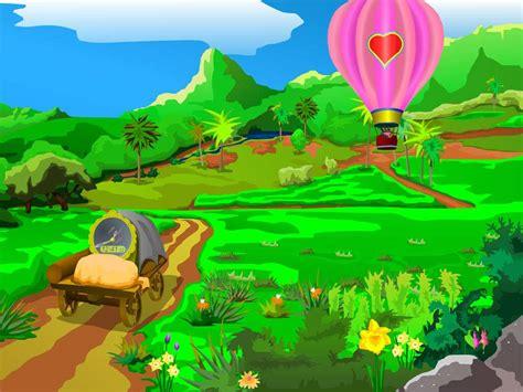 wallpaper pemandangan alam kartun wallpaper pemandangan animasi pemandangan gunung