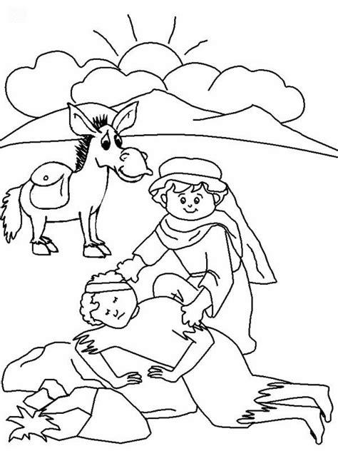the good samaritan coloring pages az coloring pages desde mi rinc 243 n de religi 243 n el buen samaritano colorear