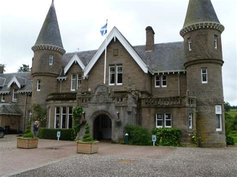 ballathie house hotel entrance picture of