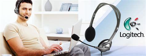 Logitech Stereo Headset Murah jual logitech stereo headset h111 981 000588 murah