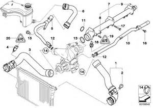 bmw 3 series cooling system water hoses