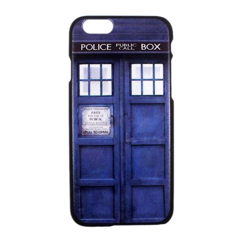 In On Tardis Call Box Iphone Sem Tardis Doctor Dr Who Call Box Blue Cover For