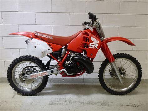 1988 honda cr250r vintage motorcross bikes for sale jk racing vintage