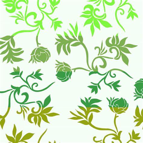 Wallpaper Sticker Motif Elegan Brown Square Ukuran 45 Cm X 10 M brown and green floral vines designyourwall