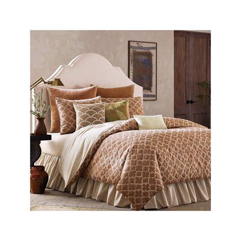 quatrefoil comforter set buy binichic terracotta quatrefoil 4 pc jacquard