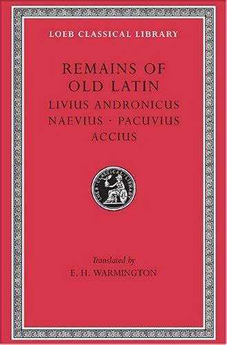 libro the remains of the libro remains of old latin livius andronicus naevius pacuvius accius 002 di