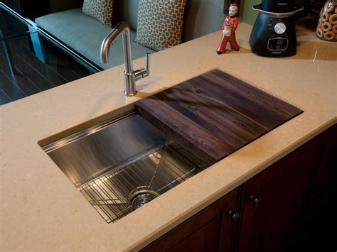 kitchen sink with cutting board hgtv oasis 2011 kitchen pictures hgtv oasis