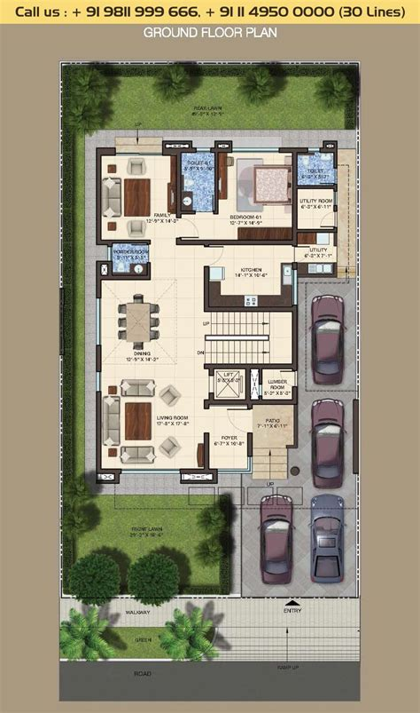 home design 500 sq yard 500 sq yard house plan house plans