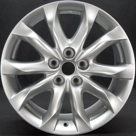 2014 mazda 3 bolt pattern mazda 64962s oem wheel 9965227080 oem original alloy wheel