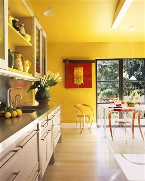 yellow kitchen walls cococozy adding bold flavor with color in three modern