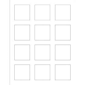 Templates Print To The Edge Square Labels 12 Per Sheet 2 X 2 Avery 3x3 Label Template
