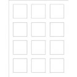Label Template 12 Per Sheet by Templates Print To The Edge Square Labels 12 Per Sheet