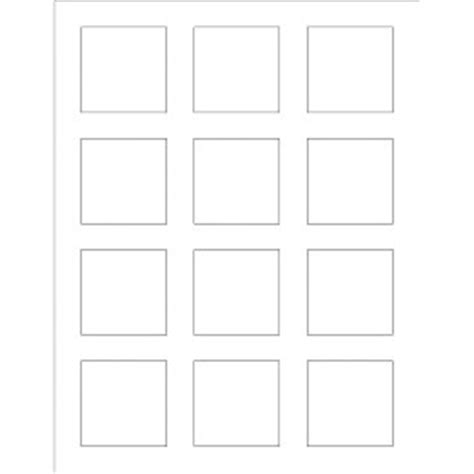 word label template 12 per sheet templates print to the edge square labels 12 per sheet