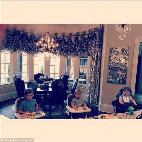 Zolciak Kitchen by Zolciak Shares Pictures Of Growing Brood