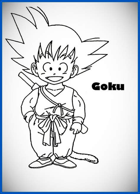 imagenes goku faciles dibujar dibujos de goku para dibujar a color archivos dibujos de