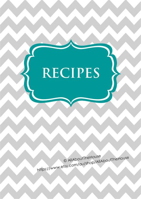 printable recipe binder covers editable recipe binder printables recipe sheet recipe card