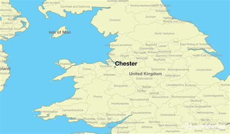 map uk chester where is chester chester map