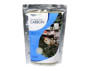 aquascape products aquascape activated pond carbon 2 lb pond filtration