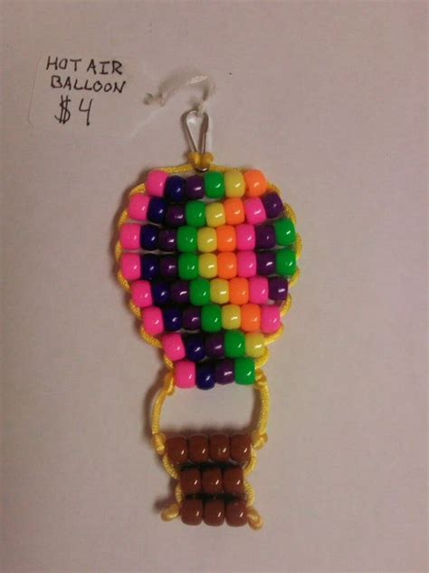 bead keychain patterns pony bead key chain crafts