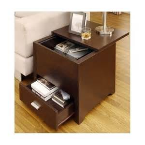 living room end tables with drawers end table wooden storage living room furniture night stand