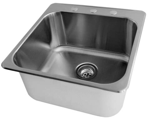 Stainless Steel Laundry Room Sink Acri Tec Stainless Steel Laundry Sink 20 X 20 1 2 X 7 The Home Depot Canada