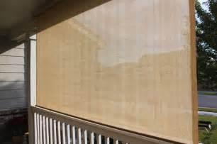 Porch Blinds Exterior Solar Screen Shades Or Porch Shades Modern