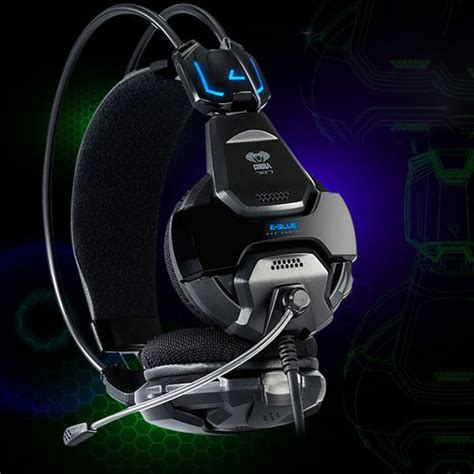 E Blue Cobra Gaming Headset Orange 1 e 3lue e blue cobra hs707 blue light gaming headsets microphone alex nld