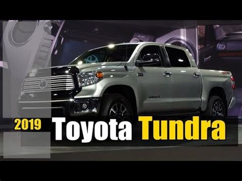 2019 toyota tundra redesign, release and price youtube