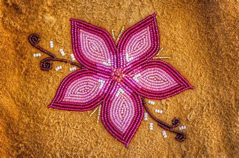 beadwork flowers floral beadwork beaded flower on moose