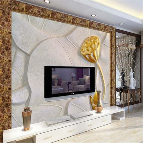 kertas dinding emas aliexpress com beli 3d wallpaper stereo chinese style