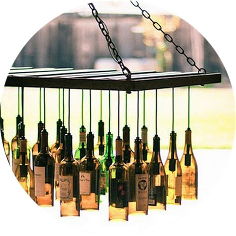 Diy Wine Bottle Chandelier 5 Upcycling Diy Ideas For Event Decor Venue Logic Event Planning And Venue Management Company