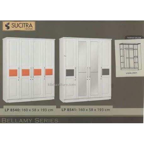 Lemari Pakaian Minimalis 2pintu Sucitra Lp 1522 lemari warna putih 4 pintu lp 8540 lp 8541 bellamy sucitra