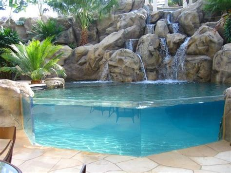 backyard pools with waterfalls 389 best images about swimming pools on pinterest