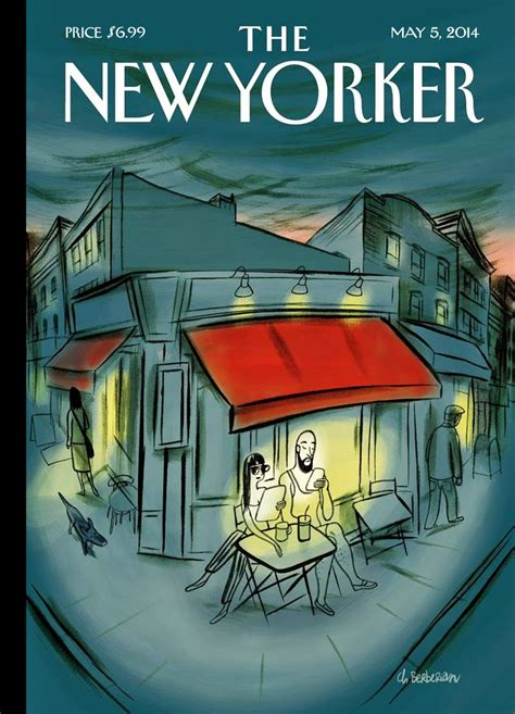 the best details from the new yorker s tmz profile la belle illustration charles berberian the new yorker