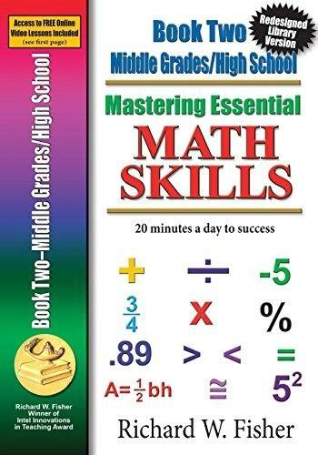 Maths Essentials For Mba Success by Mastering Essential Math Skills Book Two Middle Grades