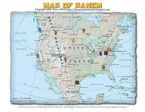 map of panem hunger hunger lesson plans worksheets and handouts