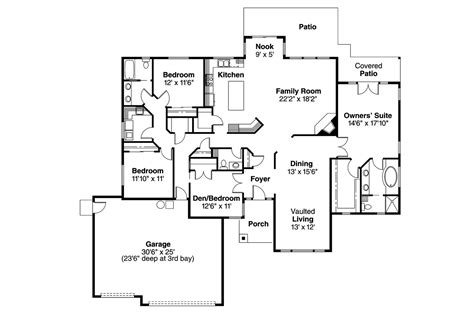 waterford residence floor plan traditional house plans waterford 30 078 associated