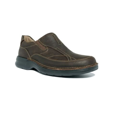 clarks loafers for lyst clarks kettering slip on loafers in brown for