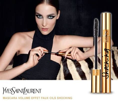 Produk Make Up Ysl adv yves laurent shocking copia il look le shiste