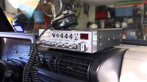 jeep cb radio cb radio install in a jeep wrangler tj