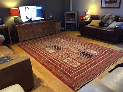 rug in a modern room fringes of plymouth