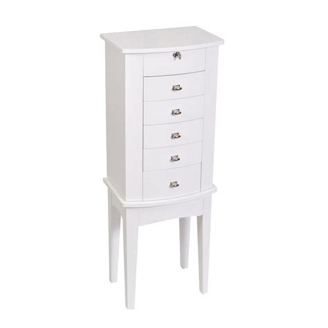 jewelry armoire white hton bay jewelry armoire white soapp culture