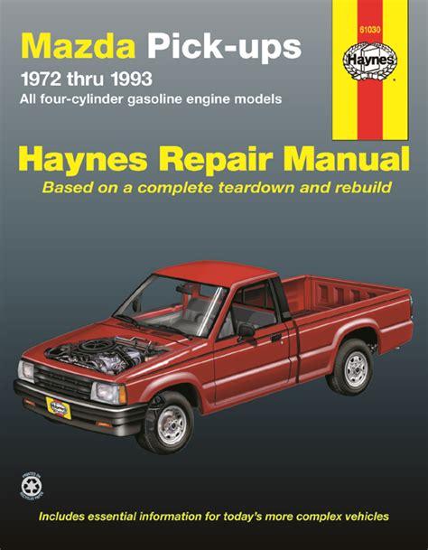 small engine service manuals 1993 mazda protege navigation system mazda pick ups 72 93 motorboken se
