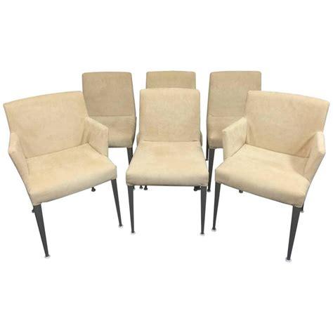 B B Italia Dining Chairs Set Of Six B B Italia Melandra Dining Chairs By Antonio
