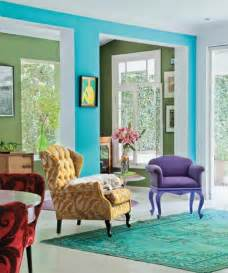 Bright Color Home Decor Bright Room Colors And Home Decorating Ideas From Designer Neza Cesar