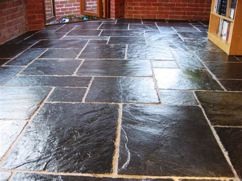 Cleaning & Sealing Slate Flagstone Tiles in Fareham   Tile