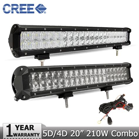 4 Led Light Bar 20 Inch 210w For Philips Led Light Bar