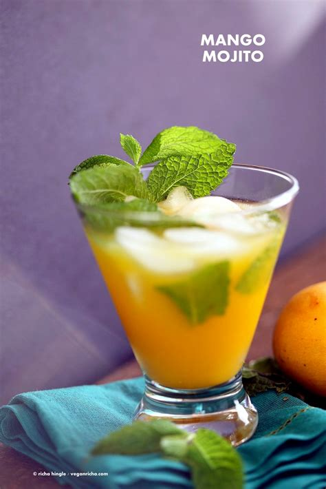 mango mojito mango mojito recipe vegan richa